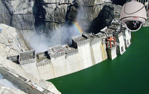 security surveillance at hydroelectric power plant - Infinova