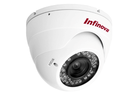 V5812IR-A8 High Resolution IR Minidome Camera – Infinova